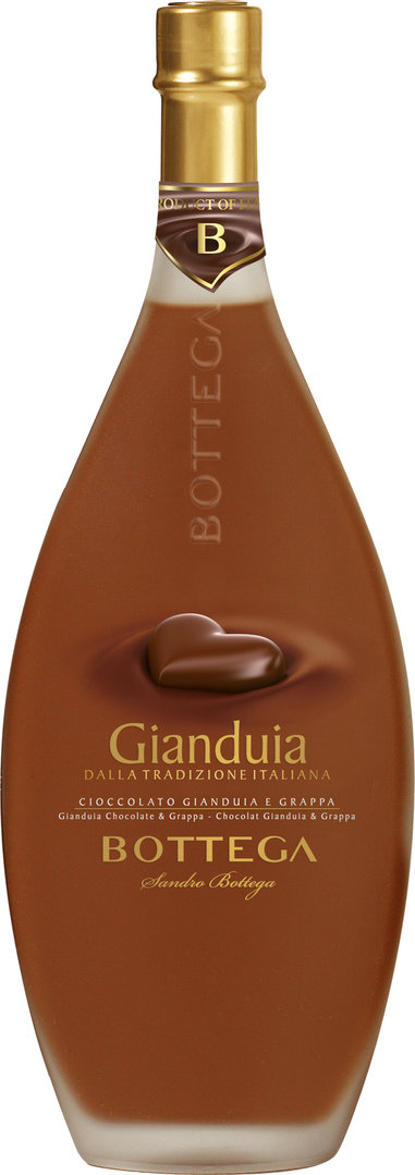 Gianduia Creme - Bottega (Nougat & Schokolade) 500 ml